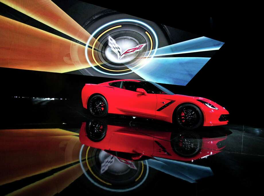 DETROIT, MI - JANUARY 13: The 7th-generation Chevrolet Corvette, the C7, is revealed to the media at the Russell Industrial Complex January 13, 2013 in Detroit, Michigan. The redesigned 2014 Corvette was revealed at a preview of the 2013 North American International Auto Show, which opens in Detroit January 14th. Photo: Bill Pugliano, . / 2013 Getty Images
