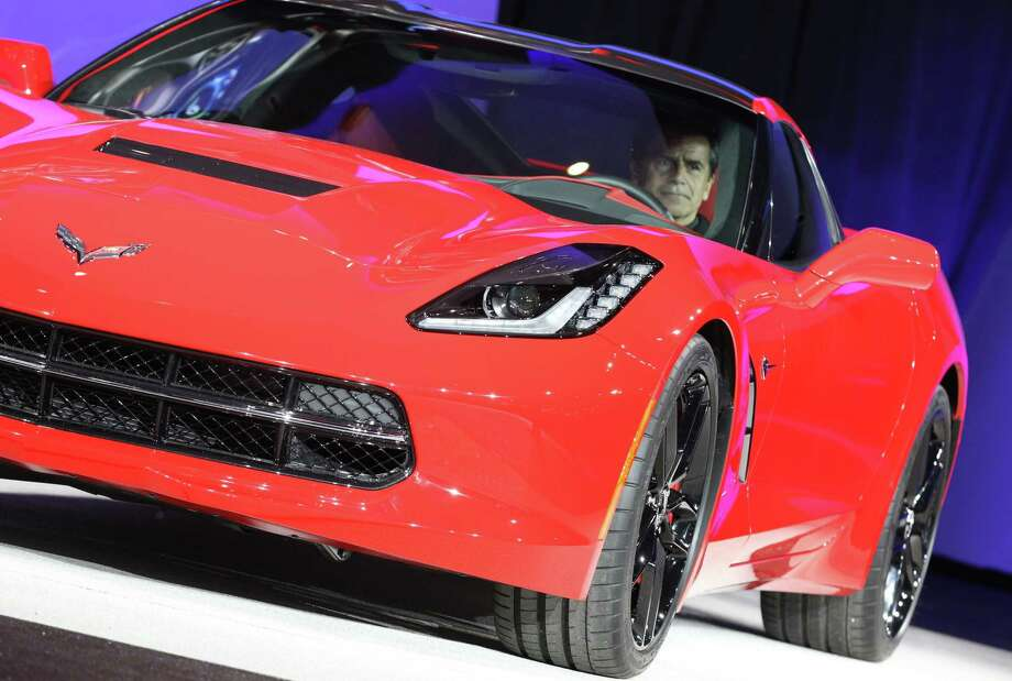 The 2014 Corvette Stingray is introduced at the 2013 North American International Auto Show in Detroit, Michigan, January 14, 2013. AFP PHOTO/Geoff Robins Photo: .