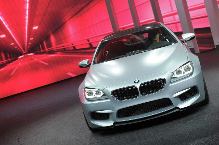 The BMW M6 Gran Coupe is introduced at the 2013 North American International Auto Show in Detroit, Michigan, on January 14, 2013.   AFP PHOTO/Stan HONDA Photo: .