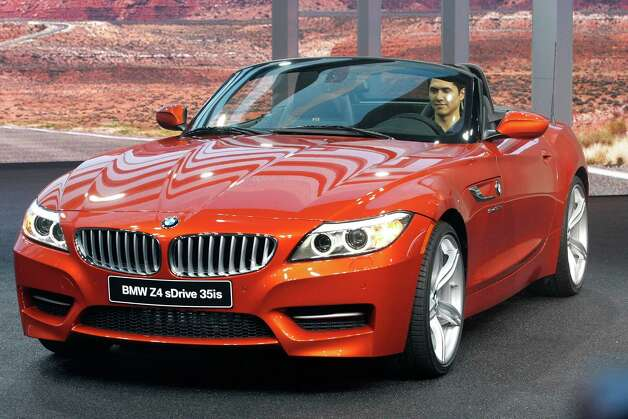 DETROIT, MI - JANUARY 14: The 2014 BMW  Z4 is revealed at the 2013 North American International Auto Show media preview at the Cobo Center January 14, 2013 in Detroit, Michigan. Approximately 6,000 members of the media from 68 countries are attending the show this year. The 2013 NAIAS opens to the public  January 19th. Photo: Bill Pugliano, . / 2013 Getty Images