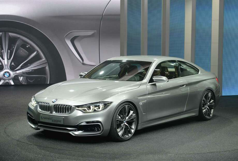 The BMW 4Series Coupe concept car is introduced at the 2013 North American International Auto Show in Detroit, Michigan, January 14, 2013. AFP PHOTO/Stan HONDA Photo: .