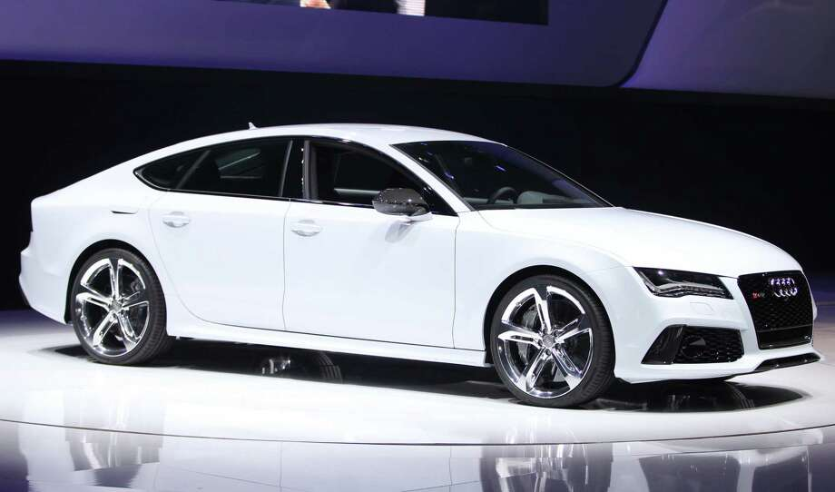 The Audi RS7 is introduced at the 2013 North American International Auto Show in Detroit, Michigan, on January 14, 2013.    AFP PHOTO/Geoff Robins Photo: .