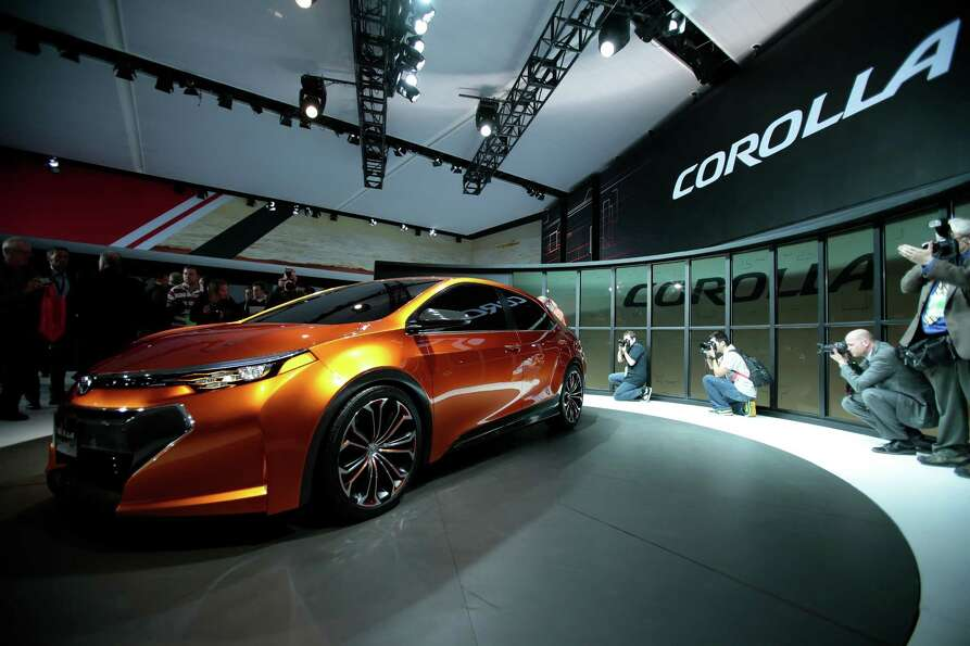 The Toyota Corolla Furia concept car is introduced at the 2013 North American International Auto Sho