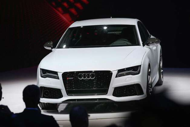 DETROIT, MI - JANUARY 14:  Audi introduces the RS7 at the North American International Auto Show on January 14, 2013 in Detroit, Michigan. The auto show will be open to the public January 19-27. Photo: Scott Olson, . / 2013 Getty Images