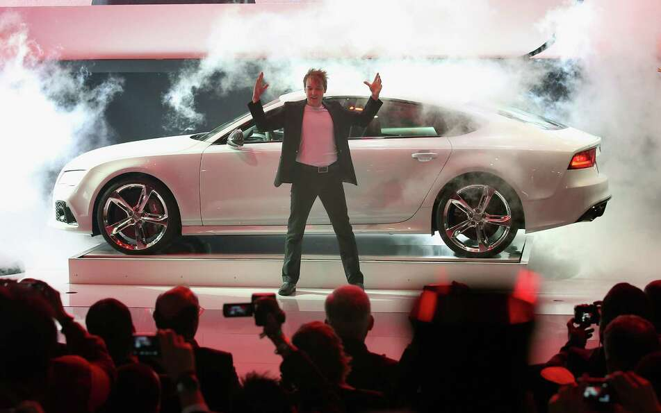 DETROIT, MI - JANUARY 14:  Audi introduces the RS7 at the North American International Auto Show on