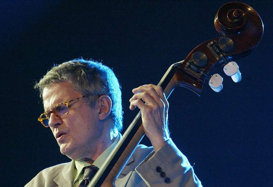 """""""I want to take people away from the ugliness and sadness around us every day and bring beautiful, deep music to as many people as I can,"""" bassist Charlie Haden said in 2013. The jazz bass player died last week in Los Angeles. Photo: Rafa Rivas, AFP/Getty Images"""