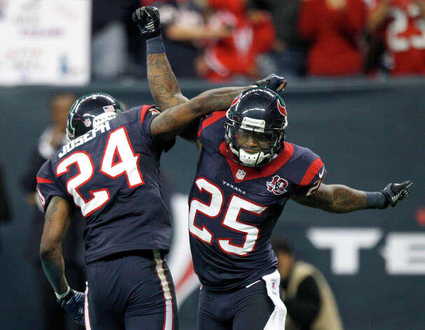 13 - Victories by the Texans, equaling the 1979 Oilers for the most ever in a season by an NFL team. Photo: Brett Coomer / © 2013  Houston Chronicle