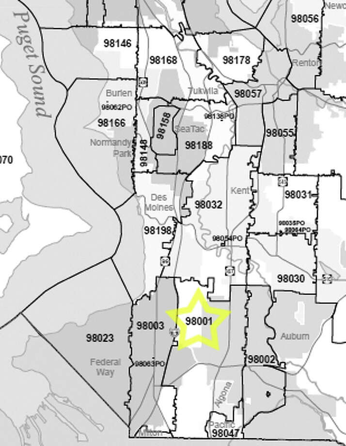 7. 98001: In this Auburn-area ZIP code, about 2.9 percent of the homes are vacant. Photo: /