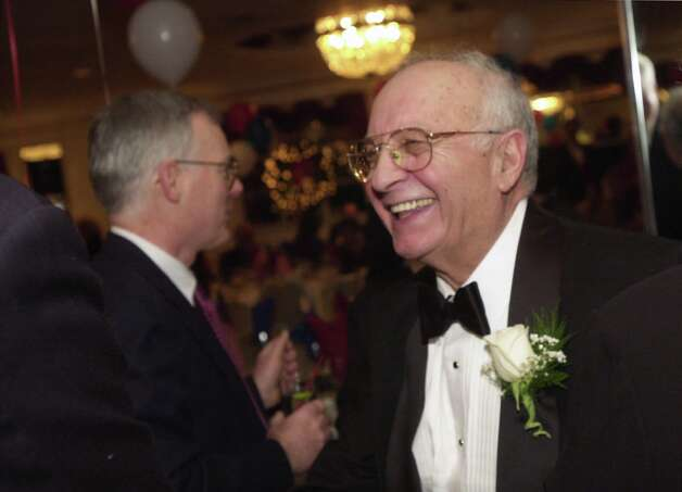 Former Norwalk Mayor Frank Esposito was remembered at his funeral on Monday, Jan. 14, 2013, for his service to the city and fun-loving personality. Photo: ST