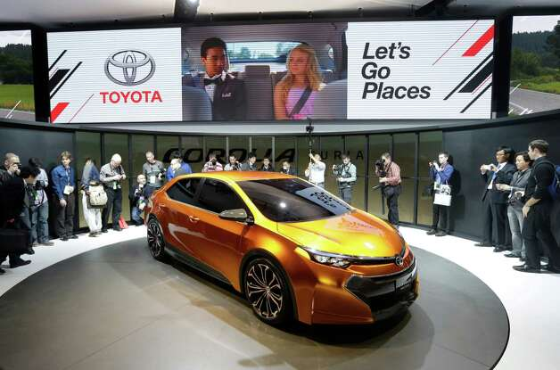 Toyota unveils its Corolla Furia Concept car during the North American International Auto Show in Detroit, Monday, Jan. 14, 2013. (AP Photo/Carlos Osorio) Photo: Carlos Osorio