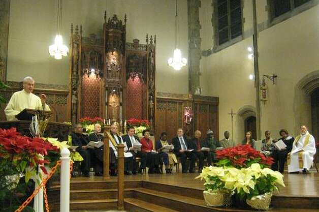 The Rev. Dr. Martin Luther King Jr. Interfaith Memorial Service was held last year at St. Francis of Assisi Parish in Albany. (http://www.capareacc.org)