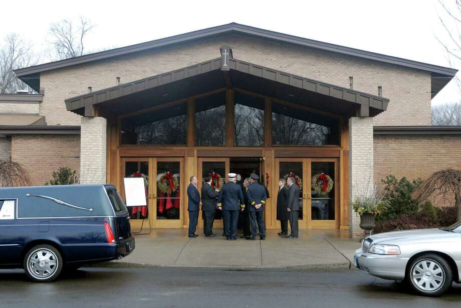 Former Norwalk Mayor Frank Esposito's funeral is held on Monday January 14, 2013 at St. Matthews Church in Norwalk, Conn. Photo: Dru Nadler / Stamford Advocate Freelance