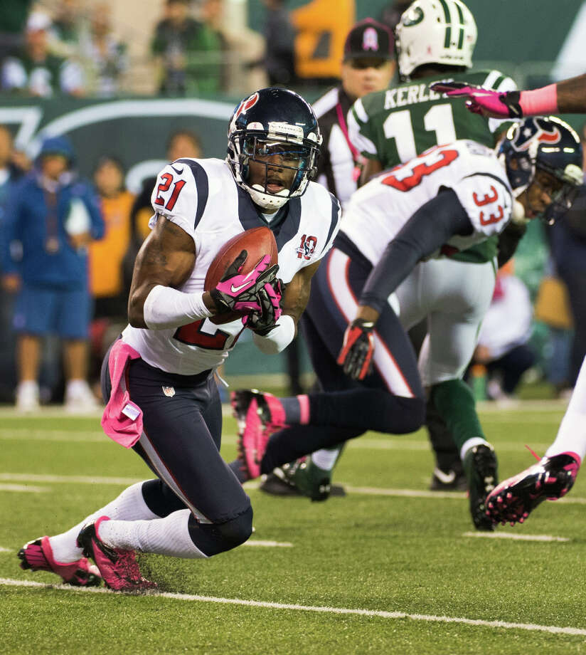 Name:Brice McCainAge: 26Experience: 4 yearsPosition: CornerbackFree-Agent Status: Unrestricted Photo: Smiley N. Pool / © 2012  Houston Chronicle