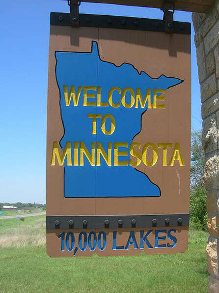 Minnesota: The state was given a yellow rating by Road Map to State Highway Saf