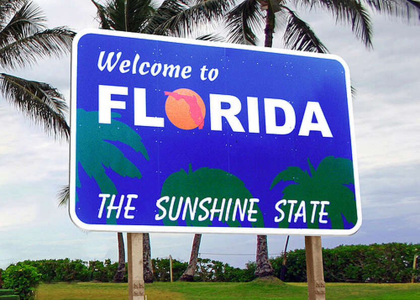 Florida: The state was given a yellow rating by Road Map to State Highway Safet