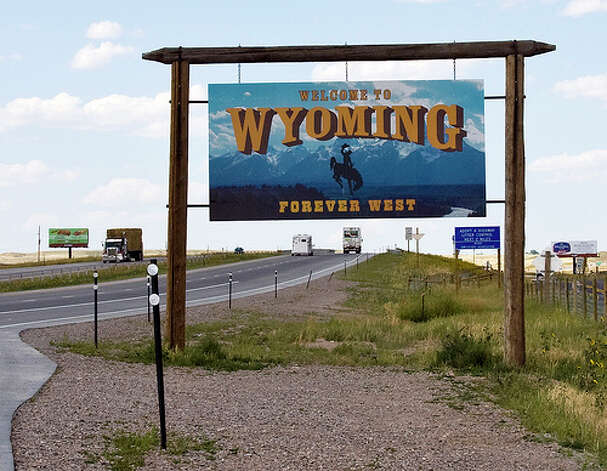 Wyoming: The state was given a red rating by Road Map to State Highway Safety laws report. The report gave the state a rating of 6 out of 15, ranking it among six worst states. (Photo: C.G.P. Grey, Flickr)