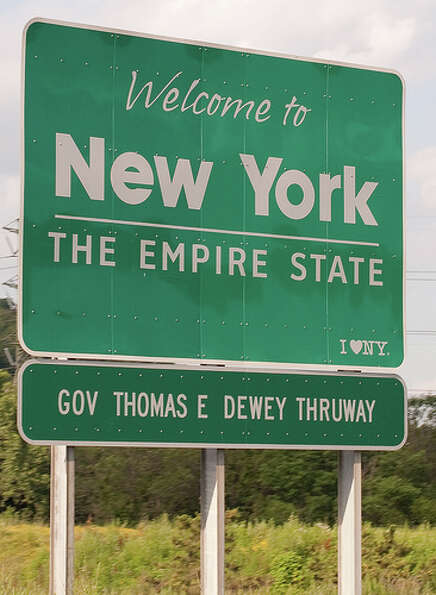 New York: The state was given a green rating by Road Map to State Highway Safet