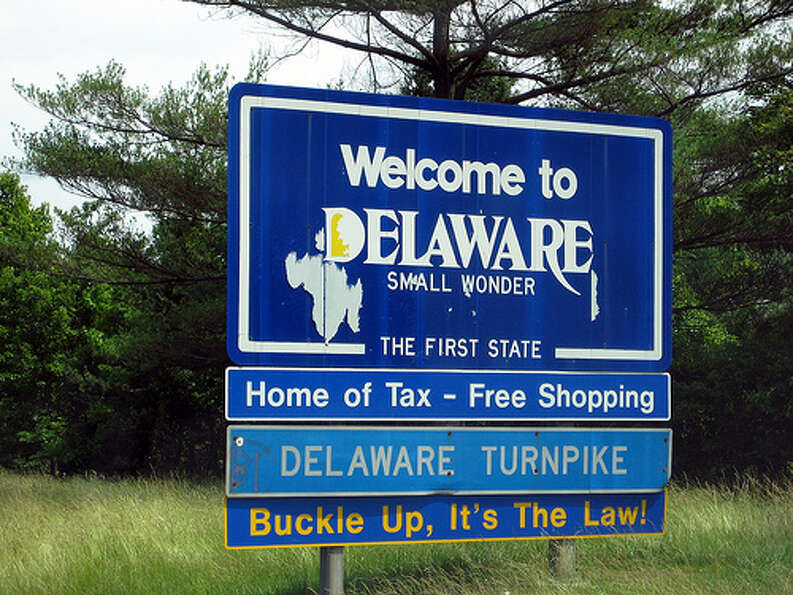 Delaware: The state was given a green rating by Road Map to State Highway Safet