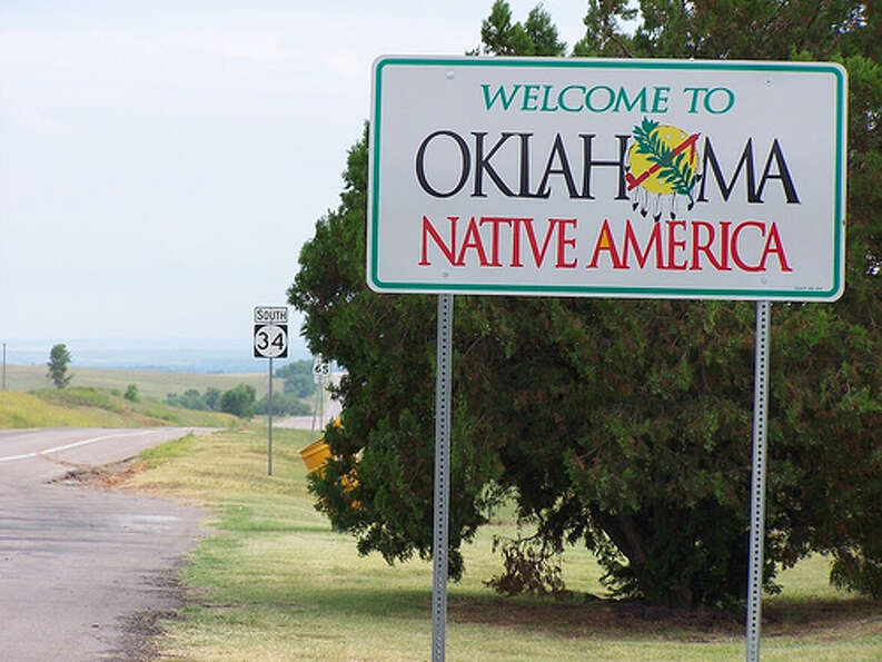 Oklahoma: The state was given a yellow rating by Road Map to State Highway Safe