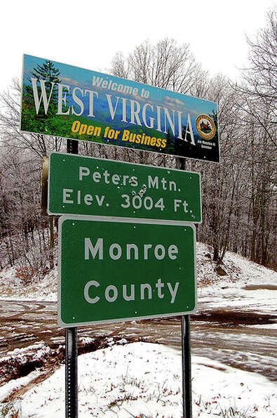 West Virginia: The state was given a yellow rating by Road Map to State Highway