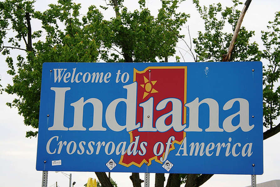 Indiana: The state was given a yellow rating by Road Map to State Highway Safet