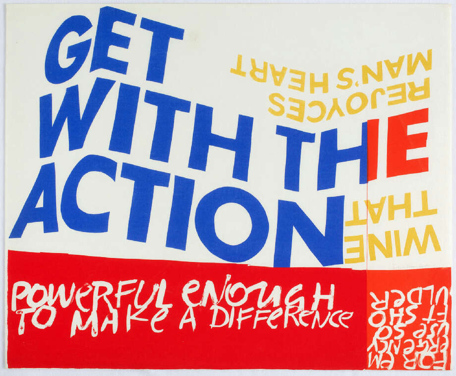 Corita Kentfor emergency use soft shoulder, 1966 Serigraph29 ¾ x 36 inches