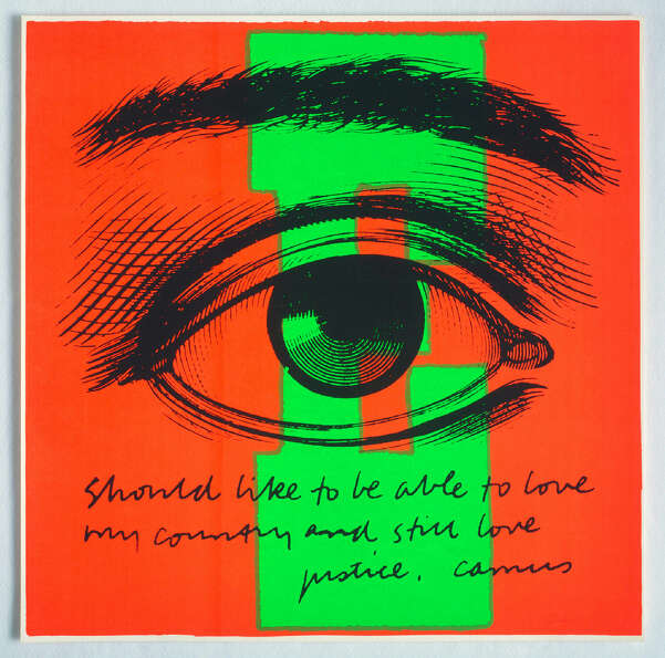 Corita KentE eye love, 1968Serigraph23 x 23 inches