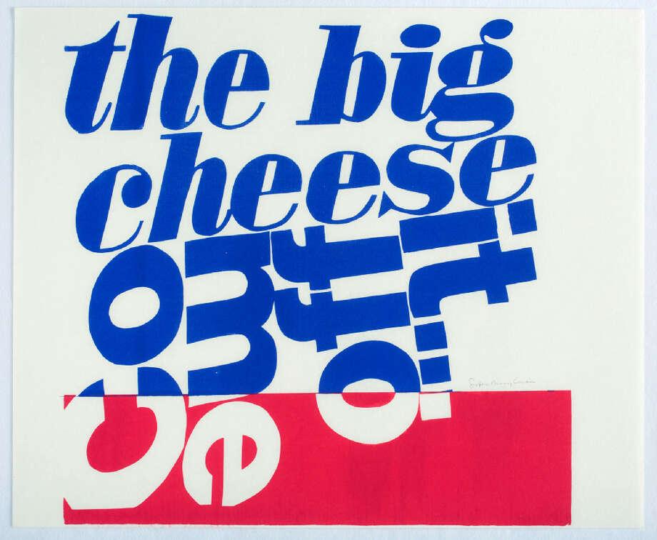Corita Kentcome off it, 1966Serigraph29 7/8 x 36 1/4 inches