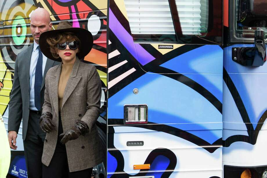 Lady Gaga leaves the Born Brave Bus. Photo: CHONA KASINGER, FOR SEATTLEPI.COM / FOR SEATTLEPI.COM