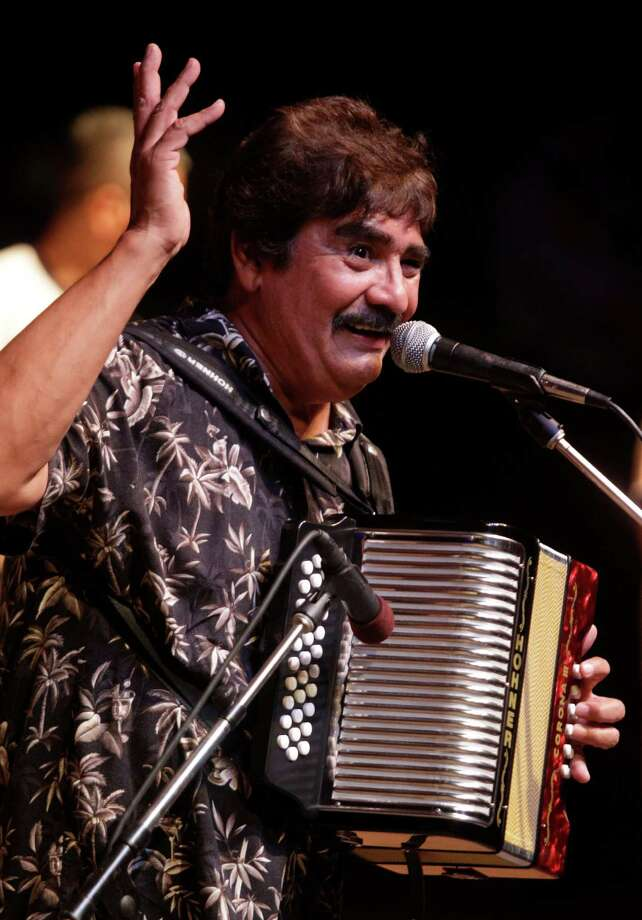 Legendary Mexican accordionist Celso Piña will bring his tropical cumbia sounds to El Fuerte Saturday. Houston Chronicle Photo: Melissa Phillip, Houston Chronicle / © 2012 Houston Chronicle