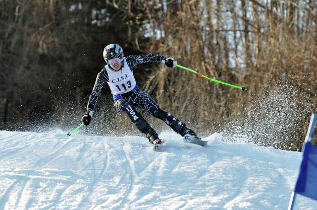 Senior Noel Berry is one of the top returnees for the Staples High boys ski team, which will be looking to improve upon its 10th place finish at the State Open a season ago. Photo: Contributed Photo