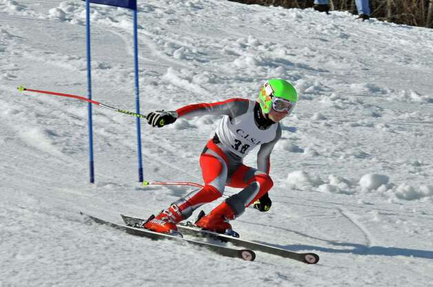 Junior Ryan Ruggiano is one of the top returnees for the Staples High boys ski team, which will be looking to improve upon its 10th place finish at the State Open a season ago. Photo: Contributed Photo