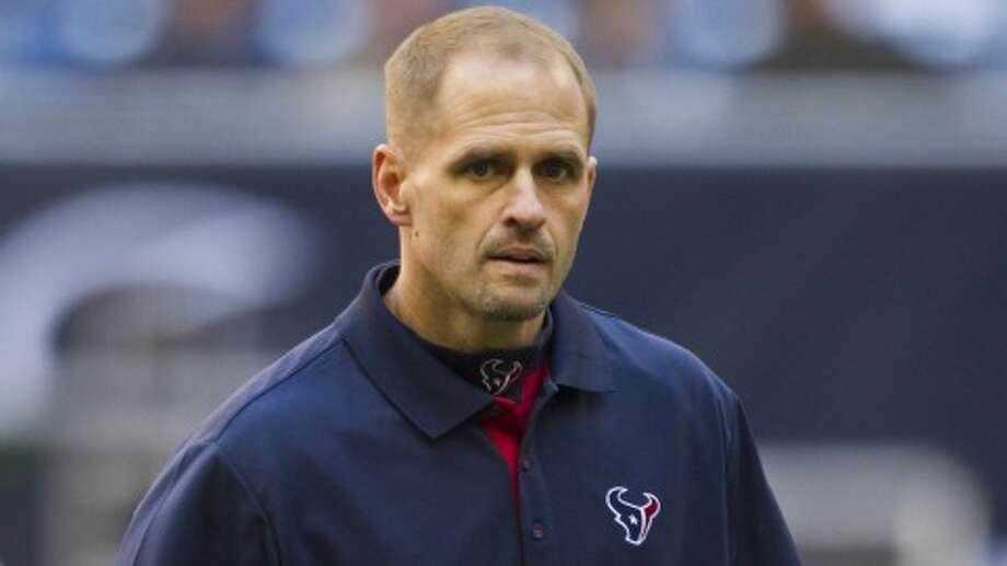 David Gibbs served on Gary Kubiak's coaching staff in 2009 and 2010. (Brett Coomer/Chronicle)
