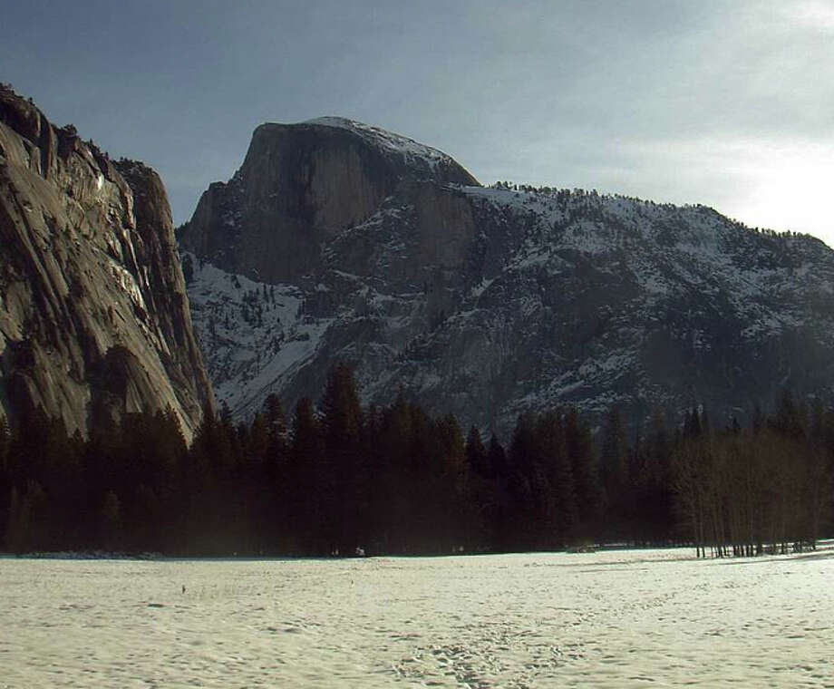 Yosemite Valley at 9 a.m. Tuesday
