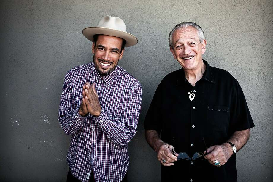 Ben Harper and Charlie Musselwhite. Photo: Danny Clinch
