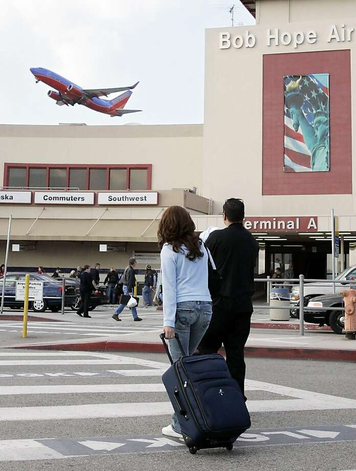 Bob Hope Airport (Burbank) Photo: Mark J. Terrill, AP