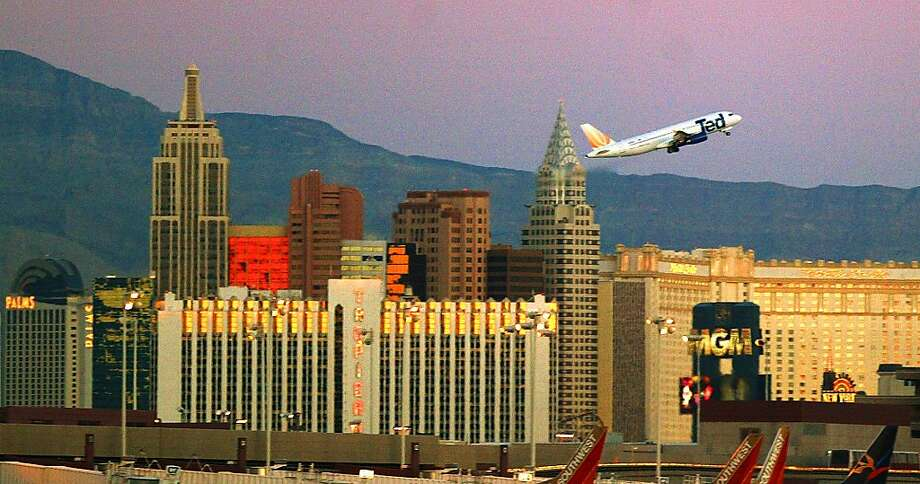 McCarran International Airport (Las Vegas) (U.S. Senator Pat McCarran) Photo: Joe Cavaretta, AP