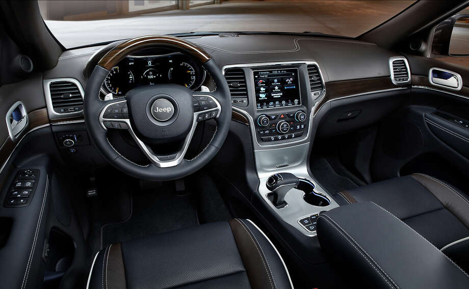 The 2014 Jeep Grand Cheroke Diesel. Photo: Jeep