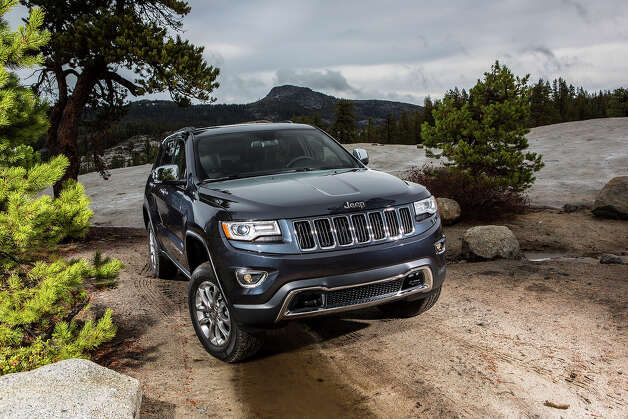 JEEP GRAND CHEROKEE DIESEL: The top-selling Grand Cherokee is making the jump to diesel power. It marks the first major expansion into diesel in the U.S. by a mainstream SUV maker, showing the potential for boosting power and fuel economy. The SUV's 3.0-liter, EcoDiesel V-6 engine promises 240 horsepower and the ability to tow up to 7,400 pounds. It's expected to get 21 mpg in the city and 30 mpg on the highway in 4x2 models, and 20 mpg city and 28 mpg highway for 4x4 models.More photos of the new Grand Cherokee Photo: AJ Mueller, Jeep