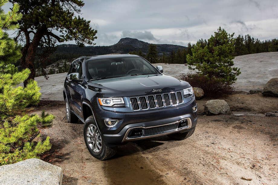 The 2014 Jeep Grand Cheroke Diesel. Photo: AJ Mueller, Jeep