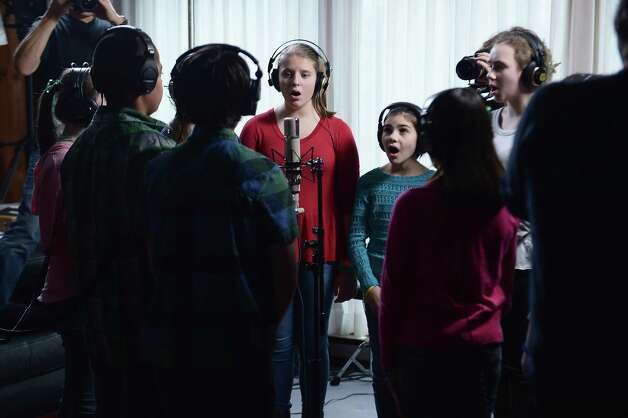 "FAIRFIELD, CT - JANUARY 09:  Children of Newton, CT perform ""A Song From Sandy Hook"" at the home of Chris Franz and Tina Weymouth of the Talking Heads on January 9, 2013 in Fairfield, Connecticut.  (Photo by Michael Loccisano/Getty Images for Tim Hayes) Photo: Michael Loccisano, Getty Images For Tim Hayes / 2013 Getty Images"