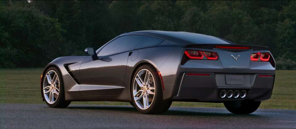 The all-new 2014 Corvette