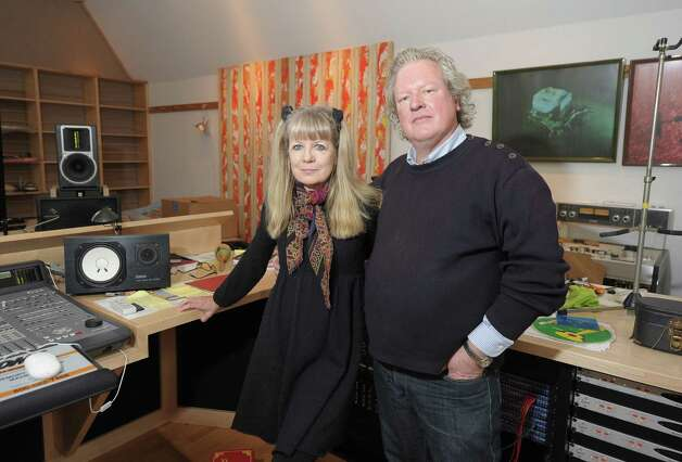 "Tina Weymouth and Chris Franz of The Tom Tom Club and Talking Heads host children of Newton, CT to perform ""A Song From Sandy Hook"" at the home of  on January 9, 2013 in Fairfield, Connecticut. Photo: Michael Loccisano, (Photo By Michael Loccisano/Gett / 2013 Getty Images Connecticut Post contributed"