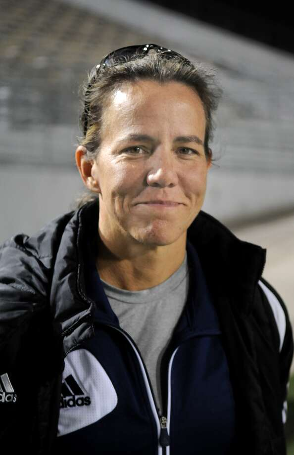 Seven Lakes Head Girls Soccer Coach Amy Davis Photo: Jerry Baker, Freelance