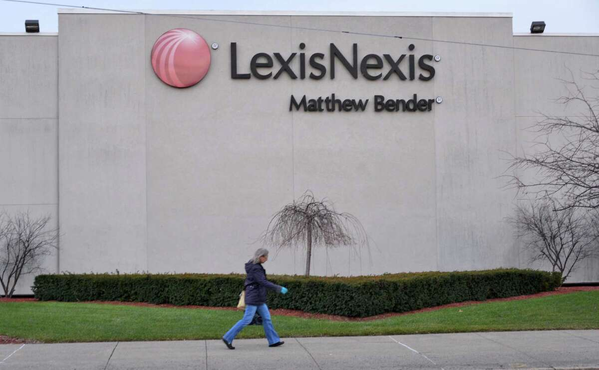 Exterior of the LexisNexis Matthew Bender building Tuesday afternoon, Jan. 15, 2013, in Menands, N.Y. (John Carl D'Annibale / Times Union)