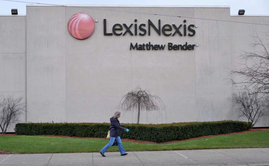 Exterior of the LexisNexis Matthew Bender building Tuesday afternoon, Jan. 15, 2013, in Menands, N.Y.  (John Carl D'Annibale / Times Union) Photo: John Carl D'Annibale