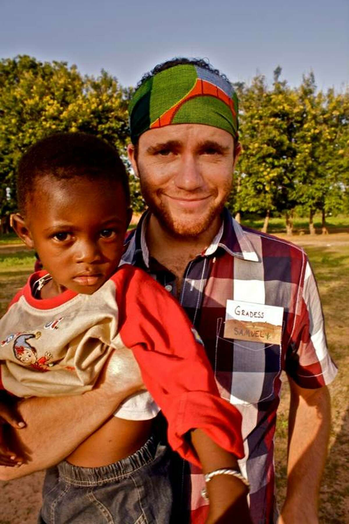 Sam Gradess is currently part of the United States Peace Corps, volunteering in Burkina Faso, Africa. (Courtesy of Jeff Brown)