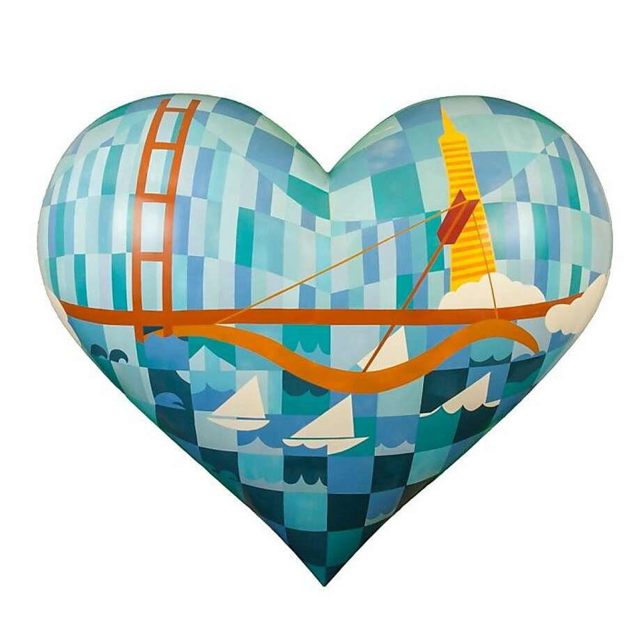 "Judith Lippe's ""City by the Bay"" Photo: Charles Zukow Associates"