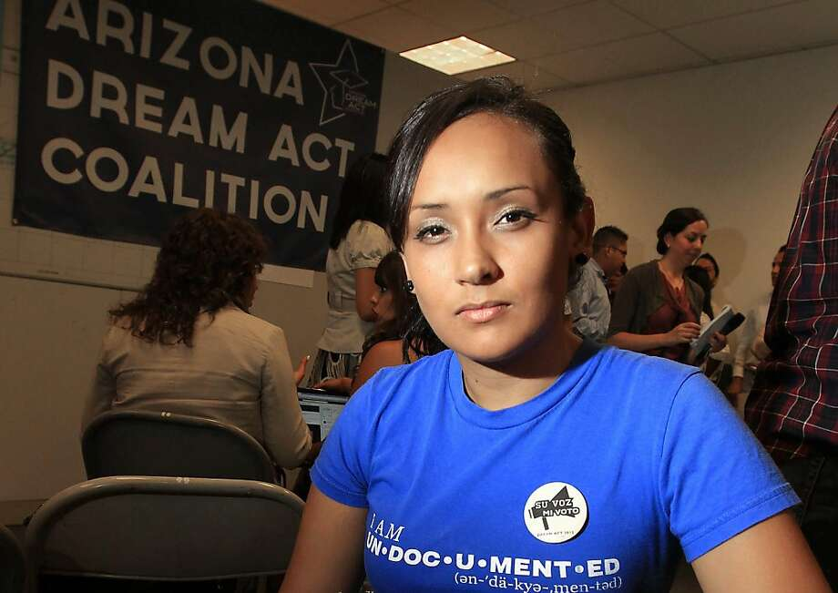 Erika Andiola has been a relentless activist for immigration rights. Photo: Ross D. Franklin, Associated Press