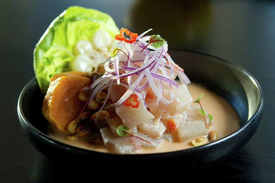 Cebiche de Limeño. Photo: Brett Coomer, Houston Chronicle / © 2012 Houston Chronicle